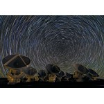 Puzzle  Grafika-00767 Whirling Southern Star Trails over ALMA
