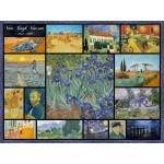 Puzzle  Grafika-00837 Collage - Vincent Van Gogh