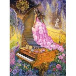 Puzzle  Grafika-00912 Melody in Pink