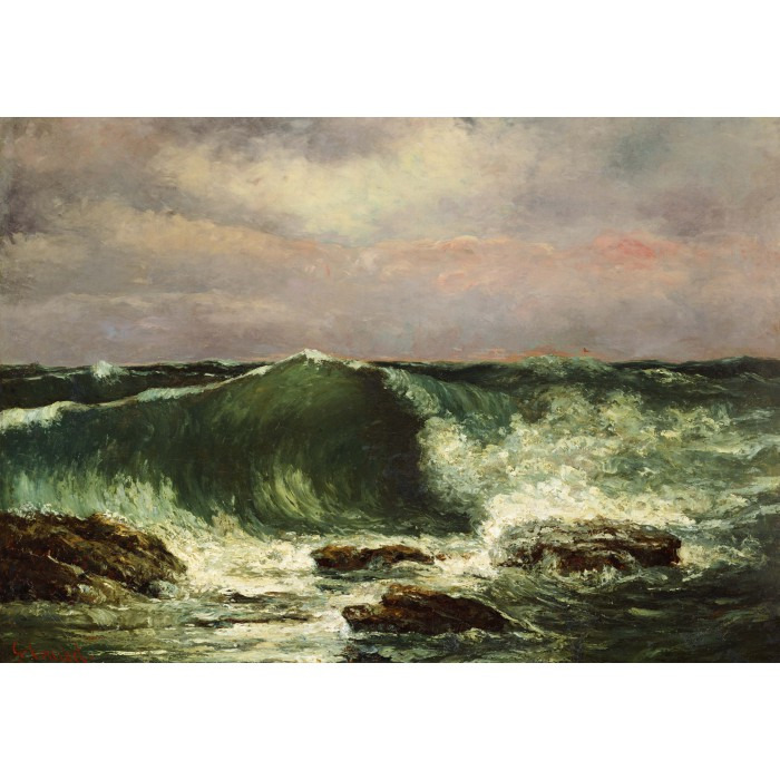 Gustave Courbet: Die Welle, 1870