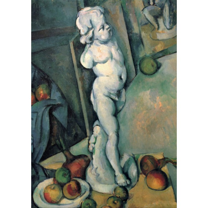 Paul Cézanne: Stillleben mit Putto, 1895