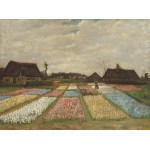 Puzzle  Grafika-01519 Vincent Van Gogh - Flower Beds in Holland, 1883