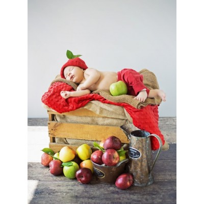 Puzzle Grafika-01613 Konrad Bak: Baby and Apples