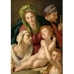 Puzzle  Grafika-01704 Agnolo Bronzino: The Holy Family, 1527/1528