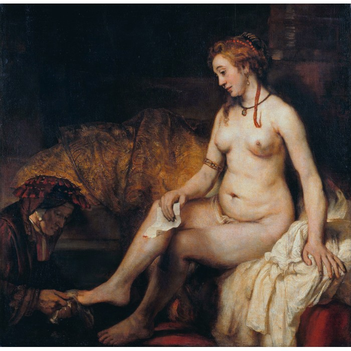 Rembrandt - Bathsheba at Her Bath, 1654