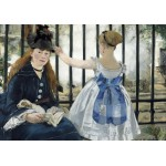 Puzzle  Grafika-01743 Edouard Manet : The Railway, 1873