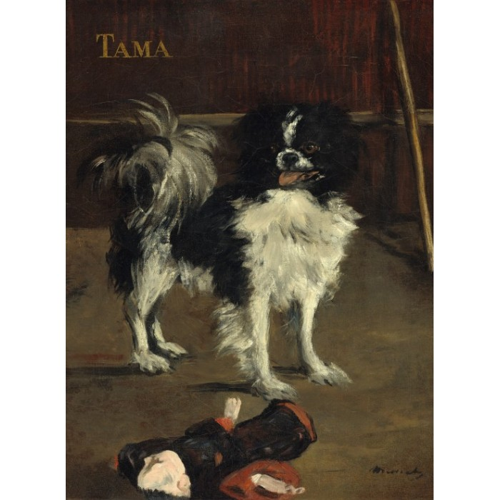 Edouard Manet: Tama: The Japanese Dog, 1875