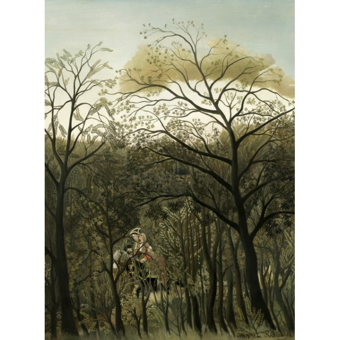 Henri Rousseau: Rendezvous in the Forest, 1889
