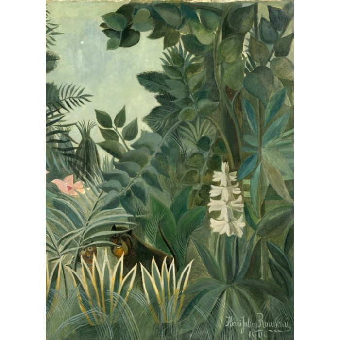 Henri Rousseau: The Equatorial Jungle, 1909