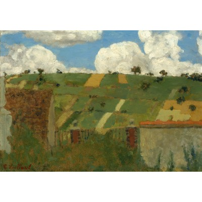 Puzzle Grafika-01813 Edouard Vuillard: Landscape of the Ile-de-France, 1894