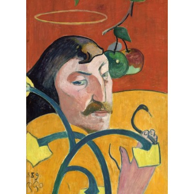 Puzzle Grafika-01823 Paul Gauguin: Self-Portrait, 1889
