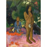 Puzzle  Grafika-01827 Paul Gauguin: Parau na te Varua ino (Words of the Devil), 1892