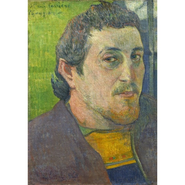 Paul Gauguin: Self-Portrait Dedicated to Carrière, 1888-1889