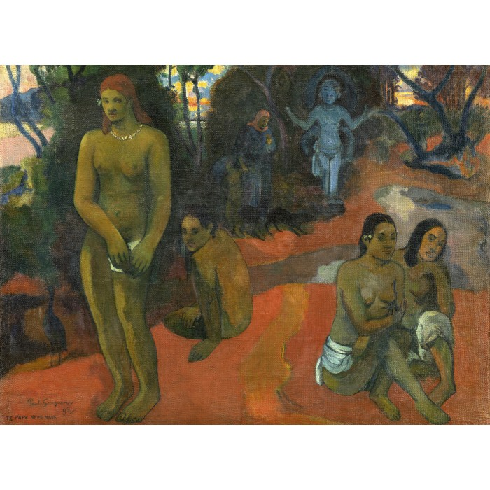 Paul Gauguin: Te Pape Nave Nave (Delectable Waters), 1898