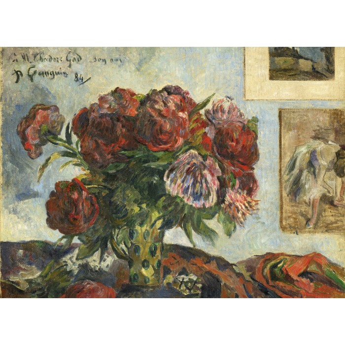 Paul Gauguin: Still Life with Peonies, 1884