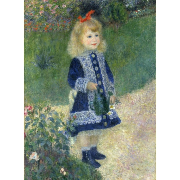 Auguste Renoir : A Girl with a Watering Can, 1876