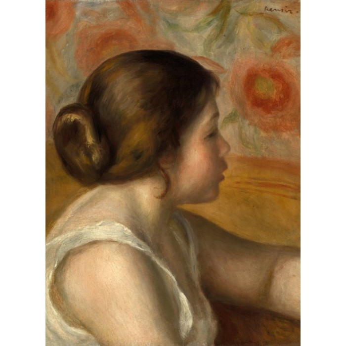 Auguste Renoir: Head of a Young Girl, 1890
