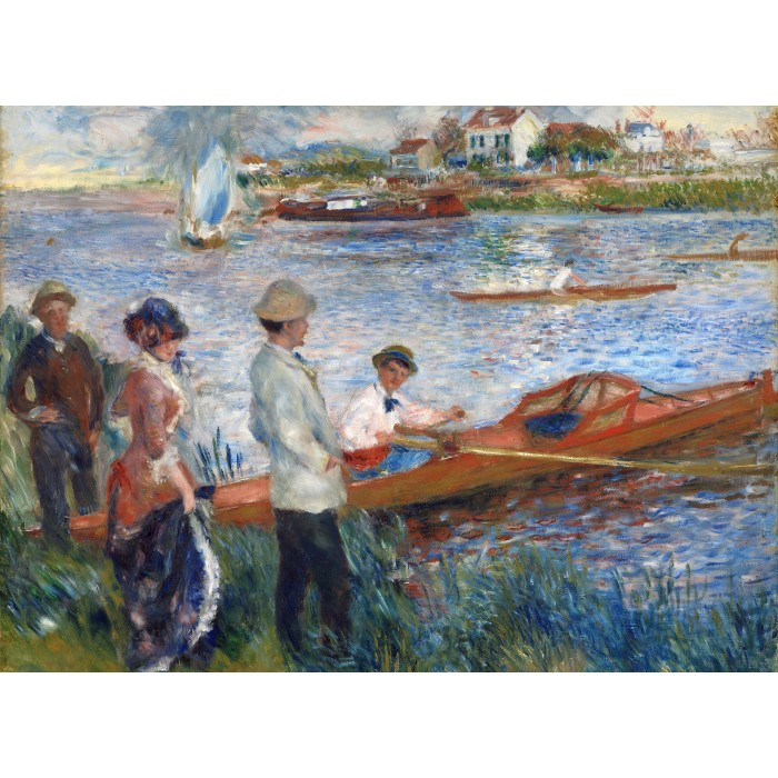 Auguste Renoir: Oarsmen at Chatou, 1879