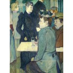 Puzzle  Grafika-01988 Henri de Toulouse-Lautrec: A Corner of the Moulin de la Galette, 1892