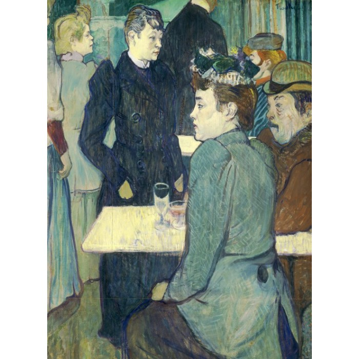 Henri de Toulouse-Lautrec: A Corner of the Moulin de la Galette, 1892