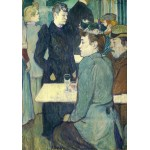 Puzzle  Grafika-01989 Henri de Toulouse-Lautrec: A Corner of the Moulin de la Galette, 1892