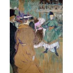 Puzzle  Grafika-02005 Henri de Toulouse-Lautrec: Quadrille at the Moulin Rouge, 1892