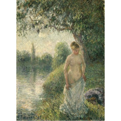 Puzzle Grafika-02020 Pissarro Camille: The Bather, 1895