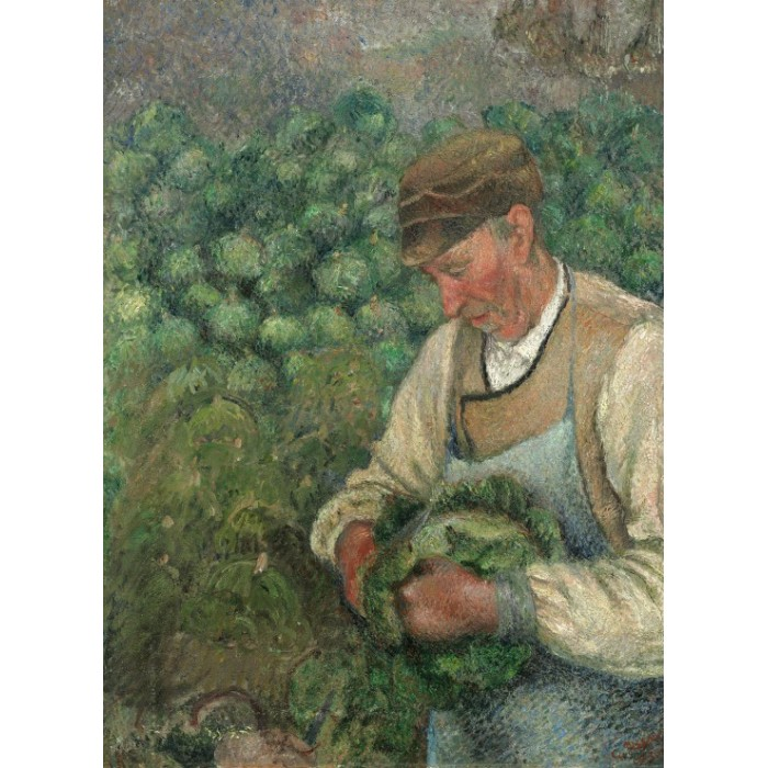 Camille Pissarro: The Gardener - Old Peasant with Cabbage, 1883-1895