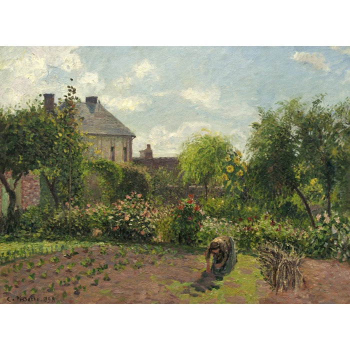 Camille Pissarro: The Artist's Garden at Eragny, 1898