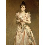 Puzzle  Grafika-02066 John Singer Sargent: Miss Grace Woodhouse, 1890