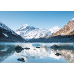Puzzle  Grafika-02085 Aoraki Mount Cook Nationalpark, Neuseeland