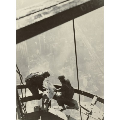 Puzzle Grafika-02124 Lewis W. Hine: Empire State Building, New York, 1931