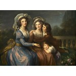 Puzzle  Grafika-02169 Louise-Élisabeth Vigee le Brun: The Marquise de Pezay, and the Marquise de Rougé with Her Sons Alexi