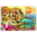 Puzzle  Grafika-02198 Travel around the World - Italien