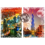Puzzle  Grafika-02475 Travel around the World - Dubai