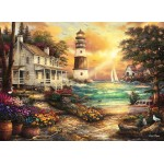 Puzzle  Grafika-02693 Chuck Pinson - Cottage by the Sea
