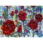 Puzzle  Grafika-02844 Sally Rich - Roses