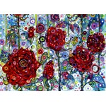 Puzzle  Grafika-02847 Sally Rich - Roses