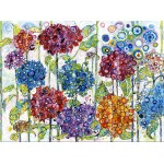Puzzle  Grafika-02857 Sally Rich - Summer Hydrangeas