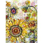 Puzzle  Grafika-02874 Sally Rich - Sunflowers