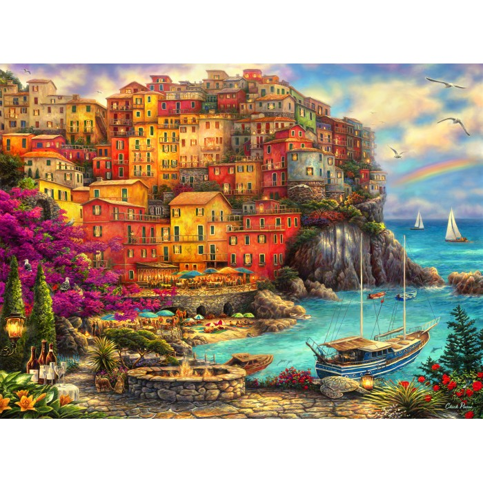 Chuck Pinson - A Beautiful Day at Cinque Terre