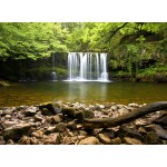Puzzle  Grafika-02935 Sgwd Clun-Gwyn Waterfall near Neath