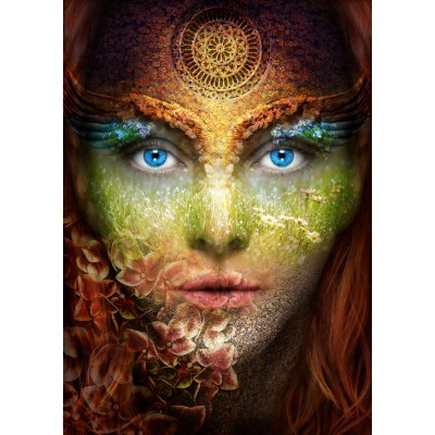 Puzzle Grafika-T-00053 Woman Nature