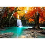 Puzzle  Grafika-T-00081 Deep Forest Waterfall