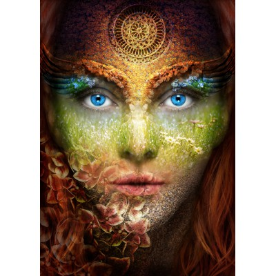 Puzzle Grafika-T-00083 Woman Nature