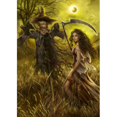 Puzzle Grafika-T-00158 Field of the Scarecrow
