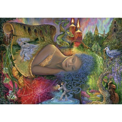 Puzzle Grafika-T-00190 Dreaming in Color