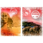 Puzzle  Grafika-T-00206 Travel around the World - Afrika, Ägypten und Kenia