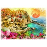 Puzzle  Grafika-T-00216 Travel around the World - Italien