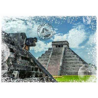 Puzzle Grafika-T-00218 Travel around the World - Mexiko